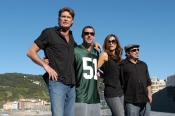 Historical pictures - David Hasselhoff, Adam Sandler, Kate Beckinsale, Frank Coraci, 2006