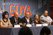 Presentation of the '25+1. Goya Awards (1987-2012)' exposition
