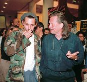 Historical pictures - Johnny Depp, Terry Gilliam, 1998