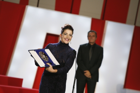Nora Navas, Jos� Coronado: Silver Shell for Best Actress ('Pa negre')