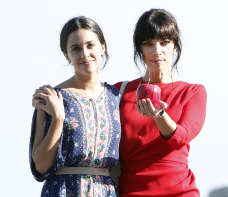 Macarena García and Maribel Verdú