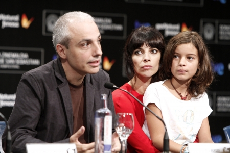 Pablo Berger, Maribel Verdú and Sofía Oria