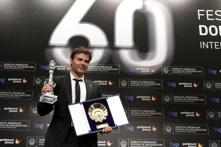 Fran�ois Ozon - JURY PRIZE FOR BEST SCREENPLAY and GOLDEN SHELL FOR BEST FILM
