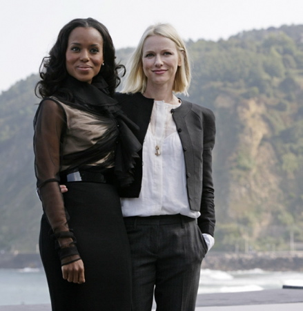 Kerry Washington and Naomi Watts