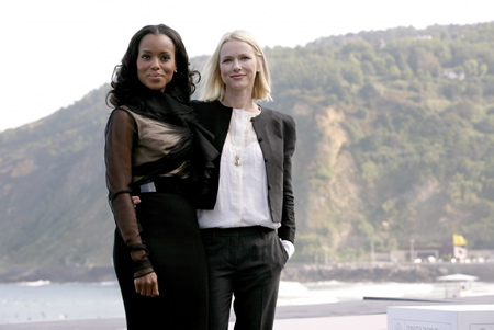 Kerry Washington, Naomi Watts