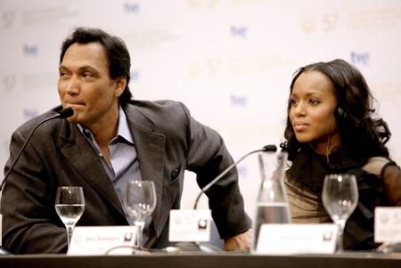 Jimmy Smits, Kerry Washington
