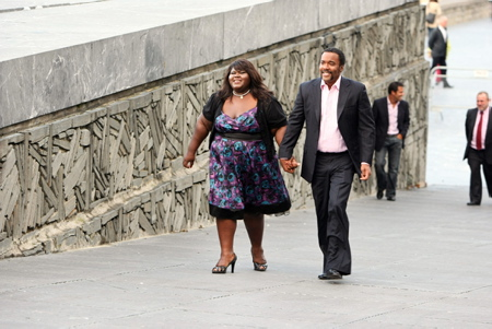 Gabourey Sidibe, Lee Daniels