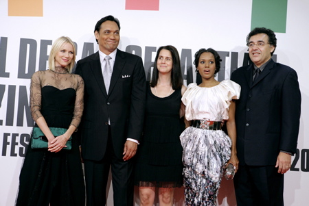 Naomy Watts, Jimmy Smits, Julie Lynn, Kerry Washington, Rodrigo Garc�a
