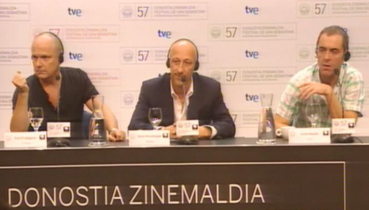Press conference ''Five Minutes of Heaven''