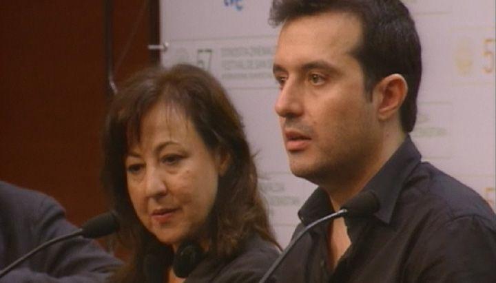 Press Conference ''La mujer sin piano''