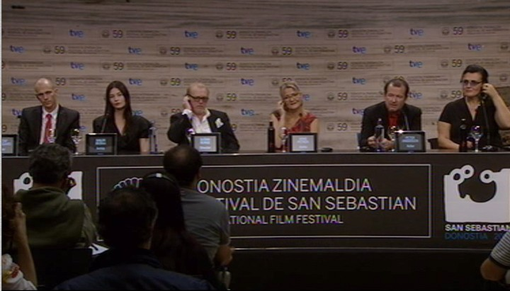 Press conference ''Happy End'' (Official Selection)