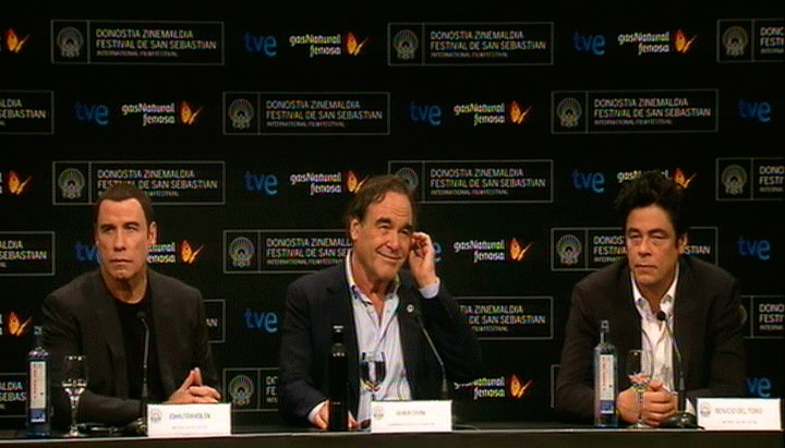 Press conference ''Savages'' (Official selection)