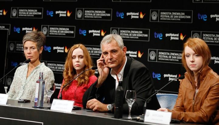 Press conference ''Foxfire''