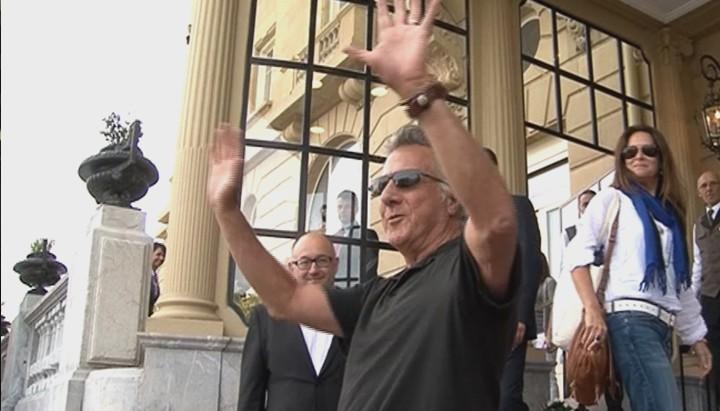 Arrival of Dustin Hoffman