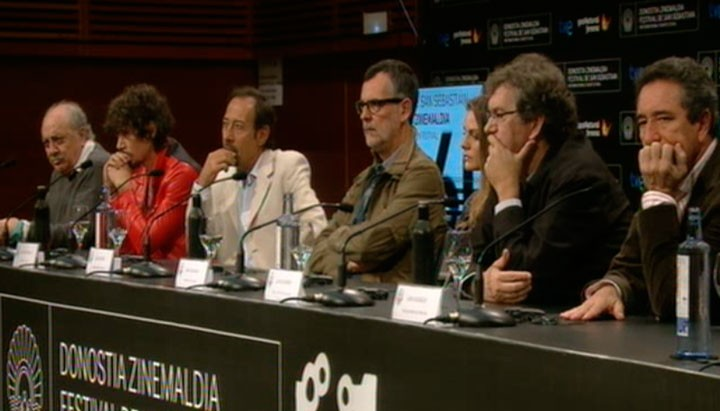 Press conference '¡Atraco!'' (Official Selection)