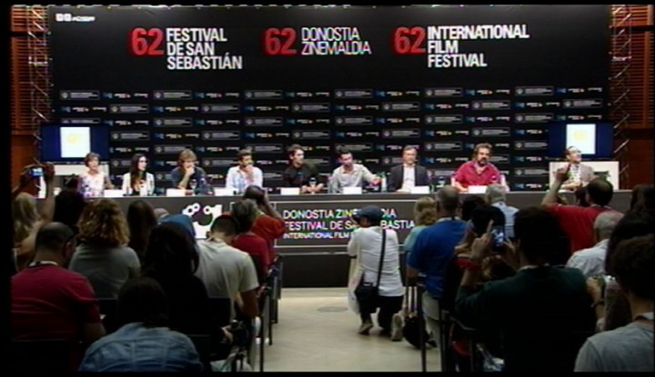 Press conference ''La Isla mínima'' (S.O)