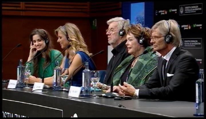 Press conference ''Stille Hjerte / Silent Heart'' (S.O)