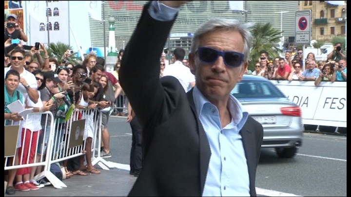 Arrival of Imanol Arias