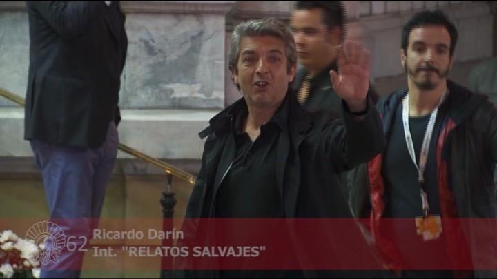 arrival of Ricardo Darín