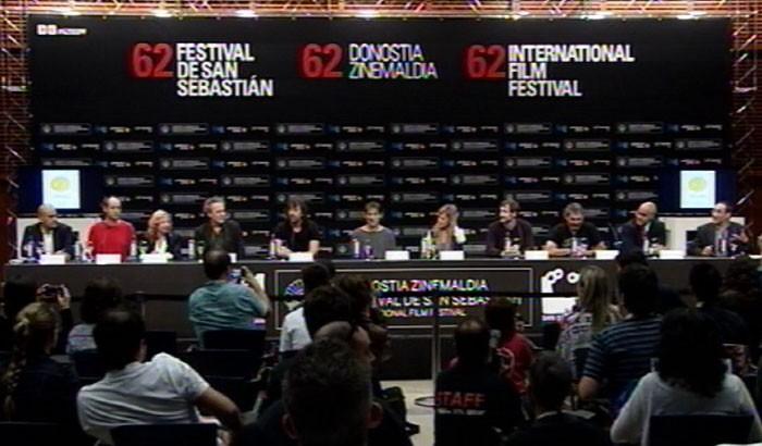 Press conference ''Murieron por encima de sus Posibilidades''