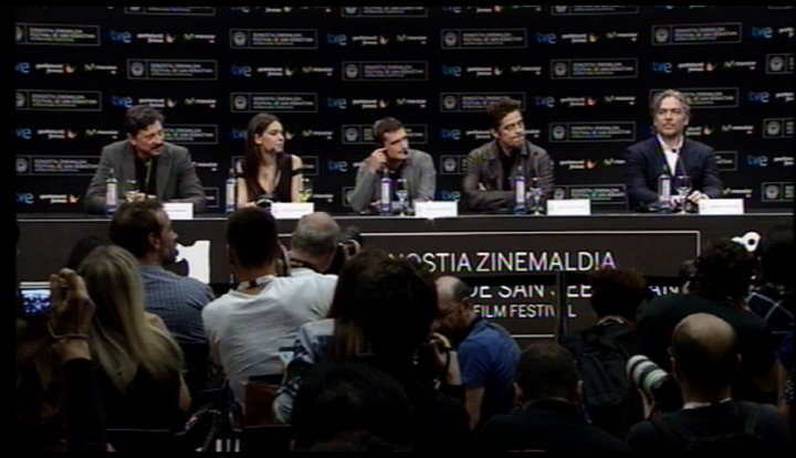 Press conference ''Escobar: Paradise lost''