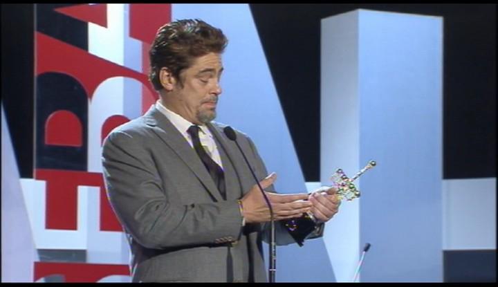 Benicio del Toro Donostia Award Ceremony