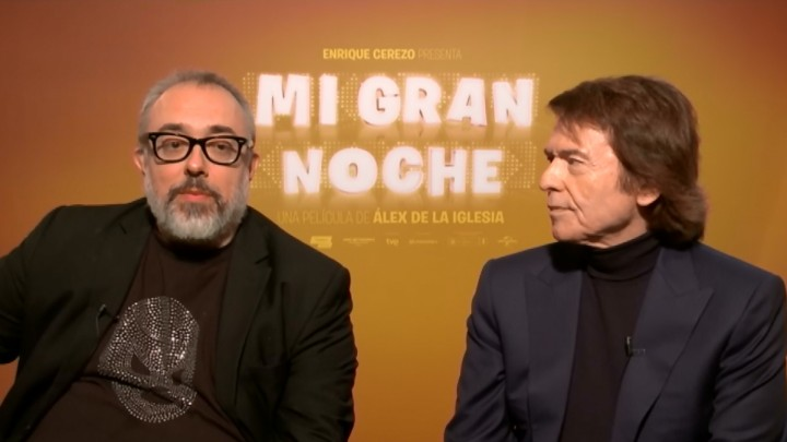 Alex De La Iglesia eta Raphael elkarrizketa