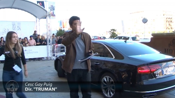 Arrival Of ''Truman'' Team