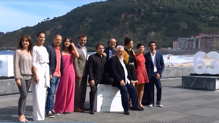 Photocall  ''Lejos del mar'' (S.O)