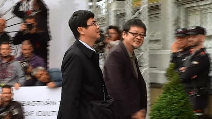 Arrival of Mamoru Hosoda