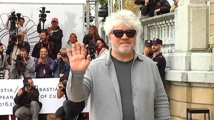 Llegada Pedro Almodovar