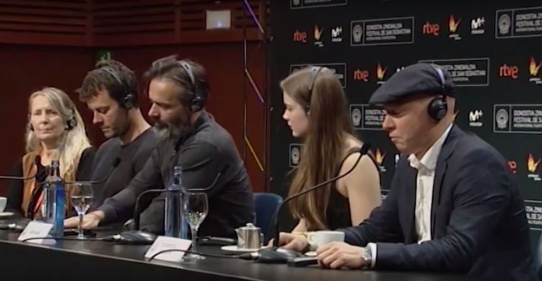 Press Conference ''Eidurinn / The Oath''