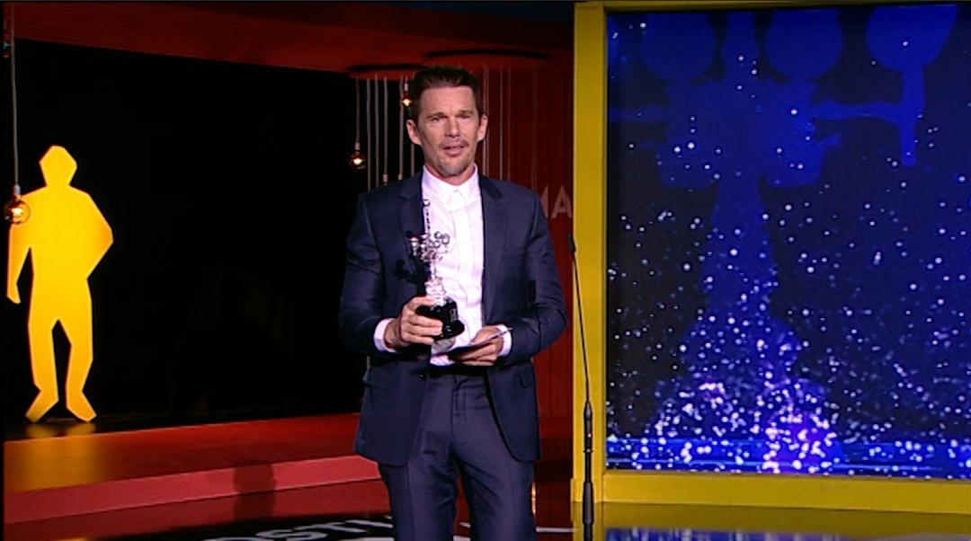 Donostia Award giving Ceremony Ethan Hawke