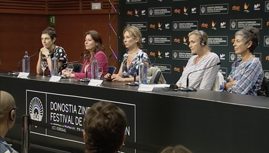Press Conference  ''La Fille de Brest/La Doctora de Brest'' (O.S)