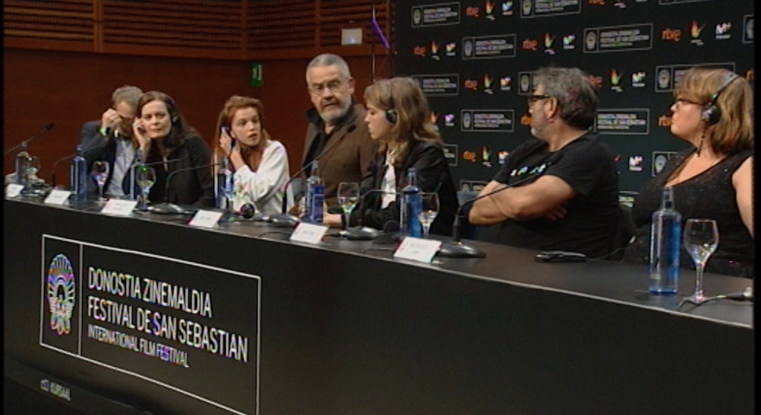 Press Conference  ''Orpheline / Orphan'' (S.O)