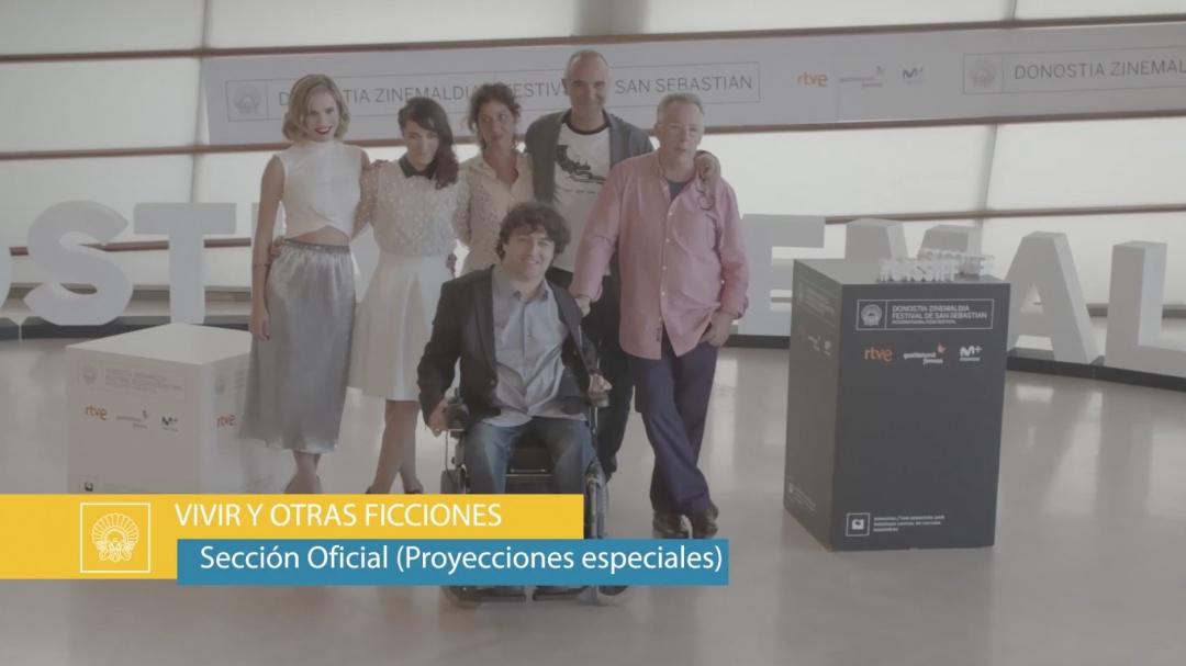 Photocall ''Vivir y Otras Ficciones'' (S.O.)