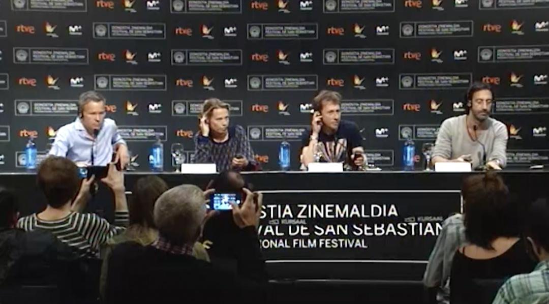 Press Conference ''Nocturama'' (O.S.)