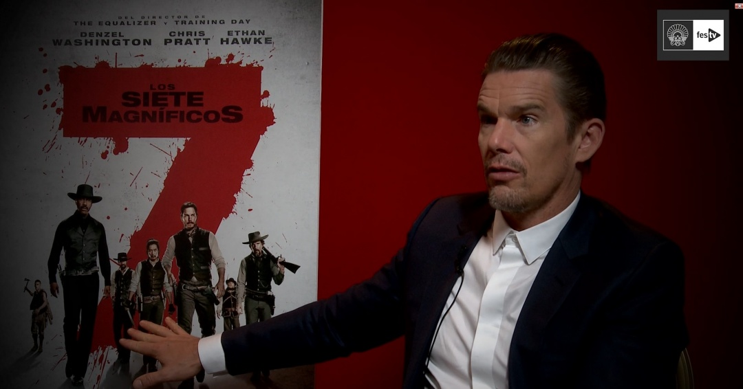 Interview with Ethan Hawke (Premio Donostia, The Magnificent Seven) - 2016
