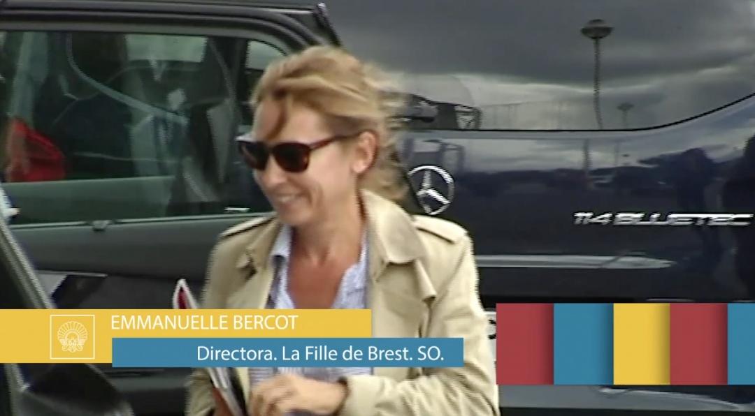 Arrival of Emmanuelle Bercot
