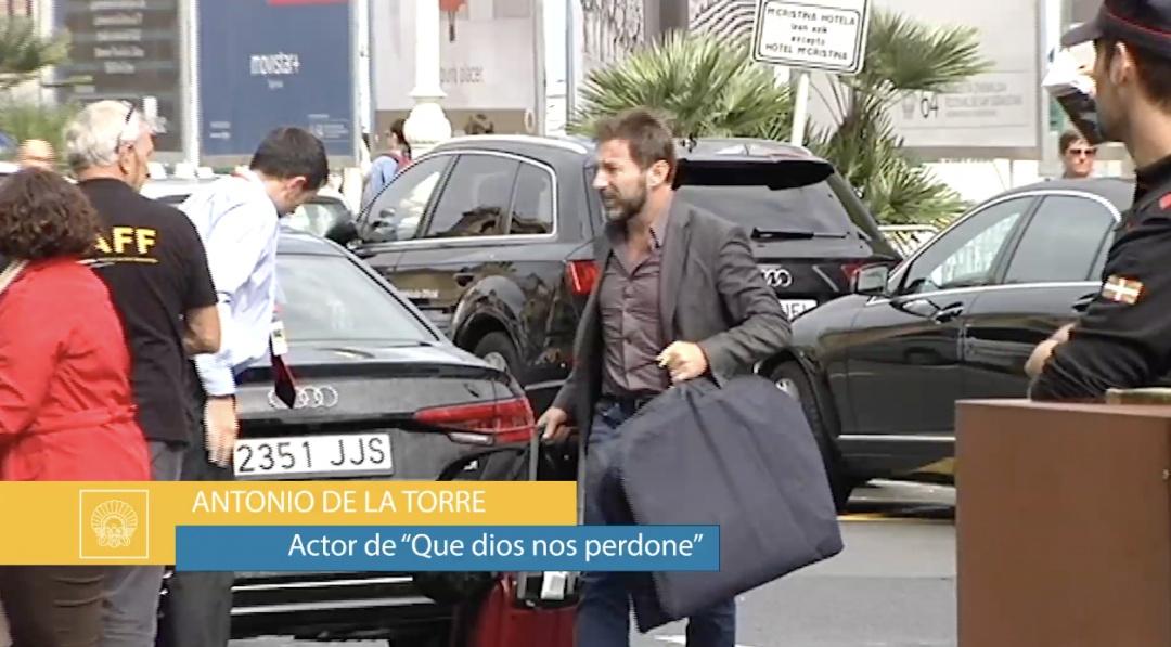 Arrival of Antonio de la Torre
