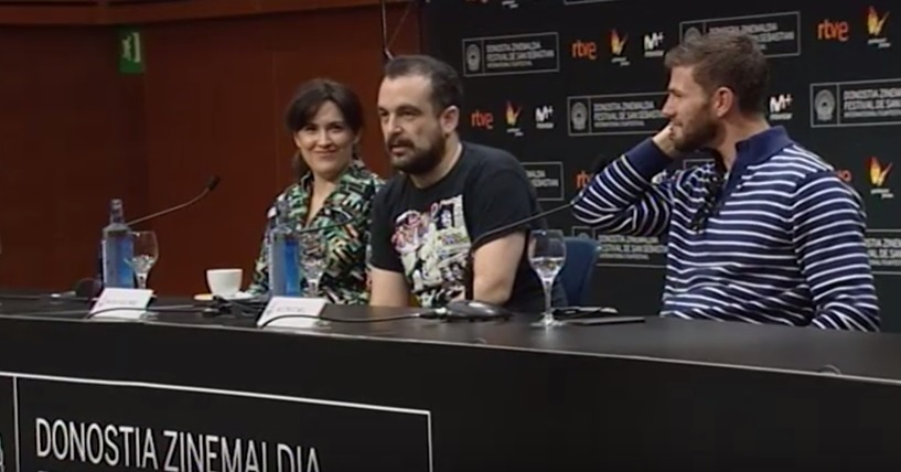Press Conference ''Colossal'' (O.S.)
