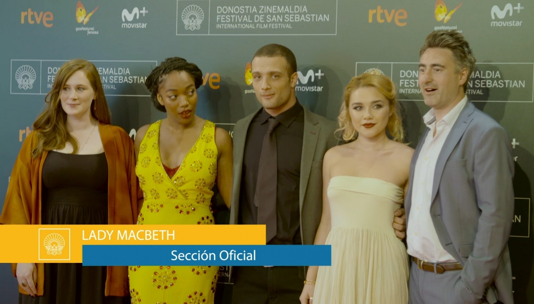Red Carpet of ''Lady Macbeth''