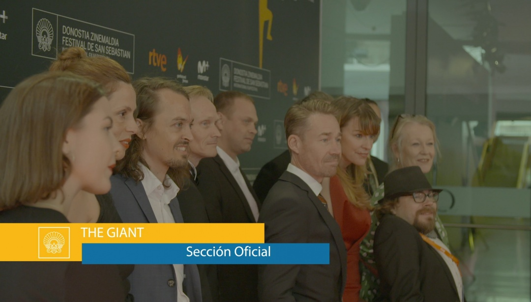 Red Carpet of ''Jätten / The Giant''