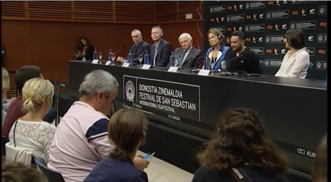 Press Conference ''A Monster Calls / Un Monstruo Viene a Verme'' (O.S Donostia Award)