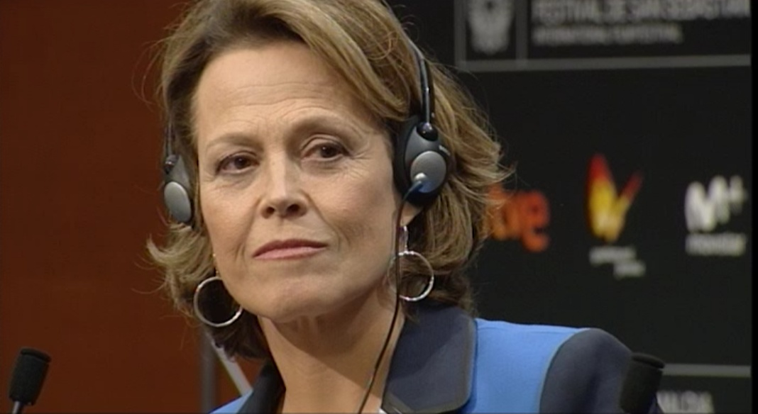Press Conference Donostia Award Sigourney Weaver