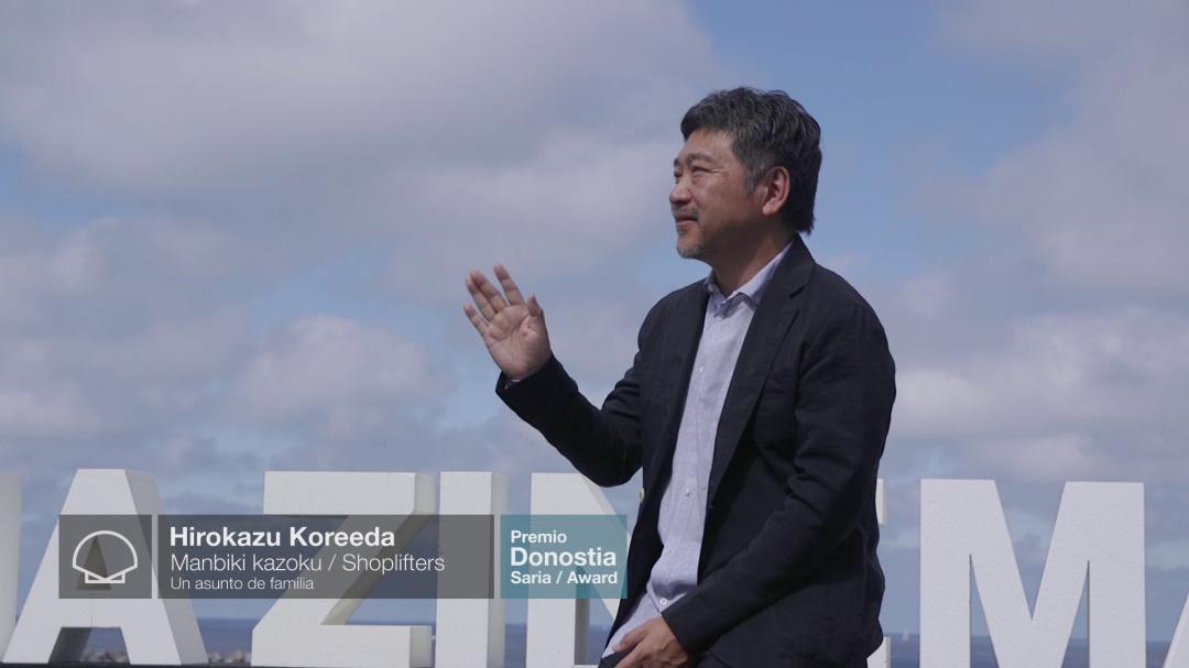 Photocall ''HIROKAZU KOREEDA'' ''MANBIKI KAZOKU/SHOPLIFTERS'' (Donostia Award)