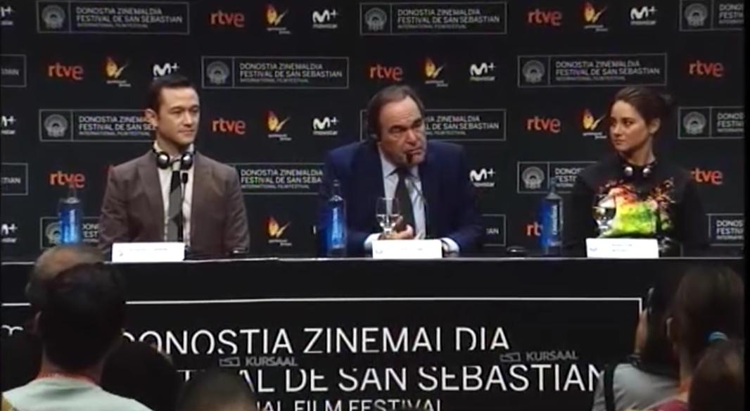 Rueda de prensa ''Snowden'' (S.O)