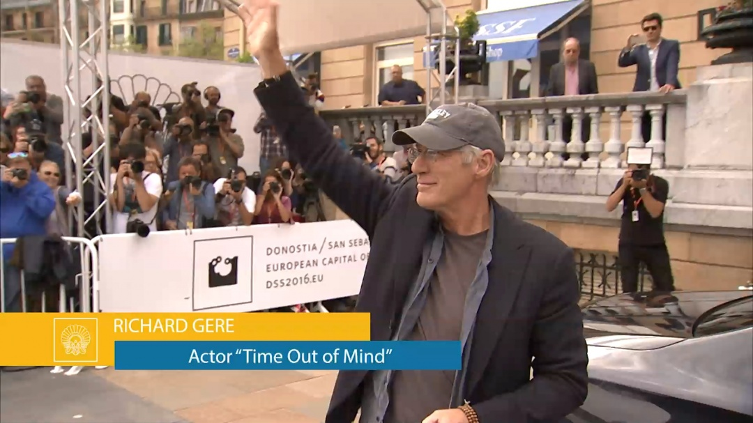 Arrival of Richard Gere