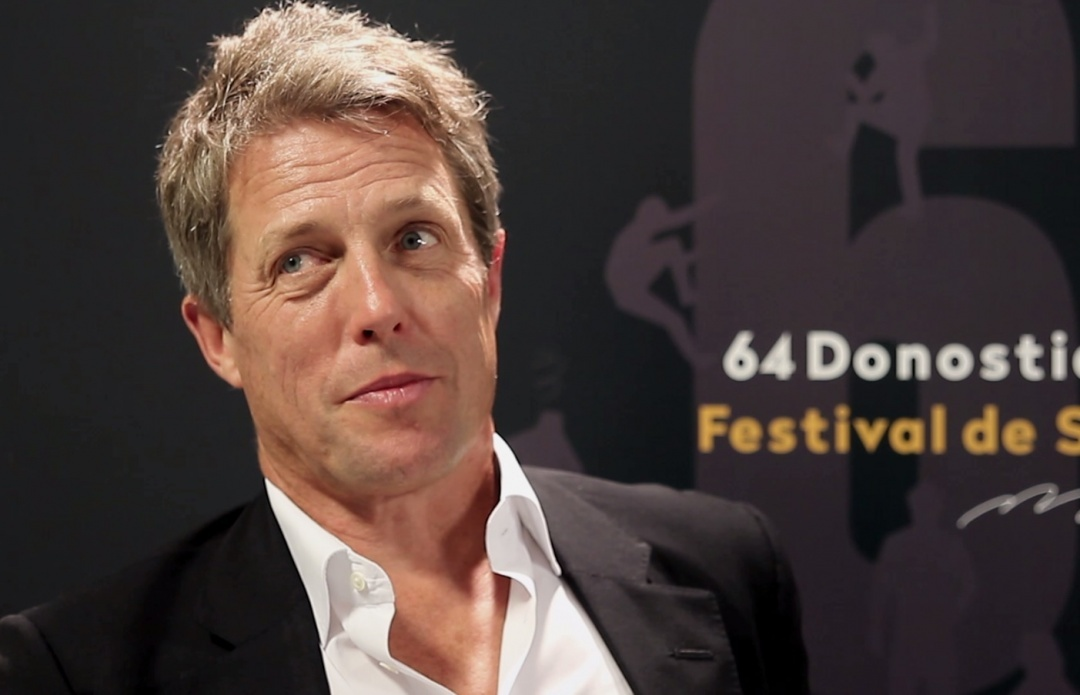Interview with Hugh Grant (Florence Foster Jenkins) - 2016