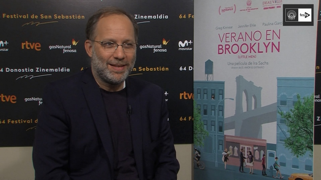 Interview with Ira Sachs (Little Men) - 2016
